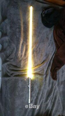 11 Colors In 1 100cm LED Silver Custom Battle Ready Durable Lightsaber