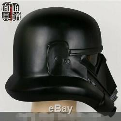 11 Star Wars Death Trooper Black Helmet Halloween Cosplay Full Face Mask PVC