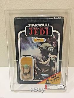 1978-2002 Star Wars Collection Including my AFA 95 ROTJ YODA & 95 Chewy Proof