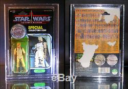 1985 Kenner Star Wars POTF Bossk Unproduced Mock-up MOC