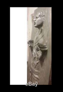 1 STAR WARS prop life-size-han-solo-in-carbonite CAN HANG ON WALL