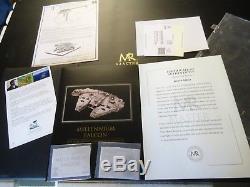 2006 Star Wars Master Replicas MR Millennium Falcon Movie Prop Studio Scale ESB