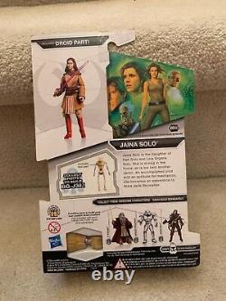 2009 Hasbro Star Wars Legacy Collection Jaina Solo MOC BD60 BAF NEW SEALED RARE