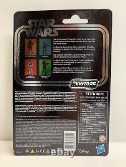 2020 Hasbro Mandalorian Star Wars Vintage Collection 3.75 Cara Dune Carbonized