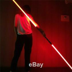 2PCS Star Wars Lightsaber Sword Movie Sound Dueling FX 16 Color Cosplay Props
