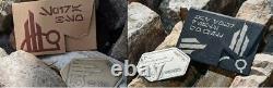 2 NEW Star Wars Galaxys Edge SILVER & GOLD BATUUAN SPIRA CREDIT Metal Gift Card