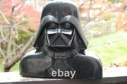 30 Star Wars ACTION FIGURE LOT + VINTAGE Darth Vader CASE figures