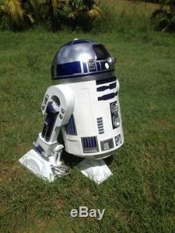 $400 Discount Star Wars 3 Leg Life Size R2d2 High Quality Fibreglass Kit New