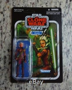 Ahsoka Tano AOTC 2012 STAR WARS Vintage Collection VC102 MOC UNPUNCHED
