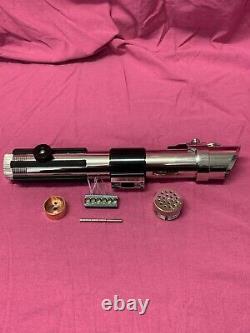 Anakin Skywalker Lightsaber CNC machined, no electronics