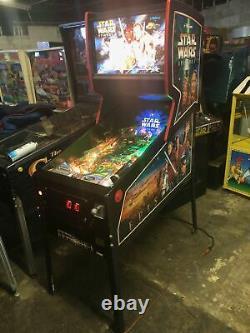 Bally Star Wars Episode 1 Pinball Machine Ready To Go! Super Nice Game