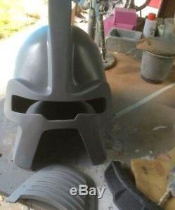 Battlestar Galactica Cylon Centurion film grade unpainted Fiberglass costume kit
