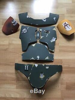 Boba Fett Full Armor Set Fiberglass
