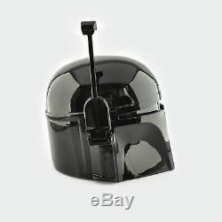 Boba Fett helmet Black Edition (Star Wars, Mandalorian, cosplay, workshop)
