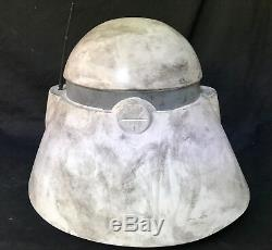 Clone trooper Cmdr Bacara helmet prop for star wars collectors ST5