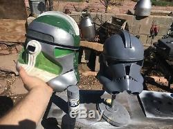 Clone trooper helmet prop casting