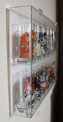 Collectors Showcase Premium Display Case for Star Wars Collectibles S1MS