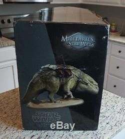 DEWBACK Militaries 2011 /2500 STAR WARS SIDESHOW Collectibles 16 Scale 12