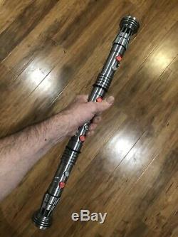 Darth Maul Lightsaber Magnetic Prop Replica Star Wars Sith Lord