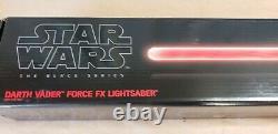 Darth Vader Lightsaber Star Wars The Black Series Force FX Lightsaber NEW & MINT
