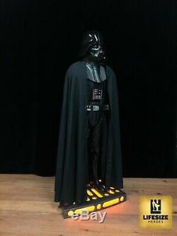 Darth Vader lebensgrosse Star Wars Figur Statue life size inkl. Beleuchtung 11