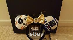 Disney Designer Droid Ears Ashley Eckstein Her Universe Star Wars Headband Read