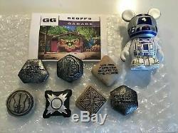 Disney Galaxy's Edge Star Wars Kylo Ren Legacy Lightsaber Hilt + Blades & BONUS