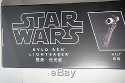 Disney Parks Kylo Ren Lightsaber Removable Blade Star Wars Last Jedi Exclusive