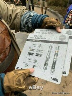 Disney Savi's Workshop Custom Lightsaber of your choice Star Wars Galaxys Edge