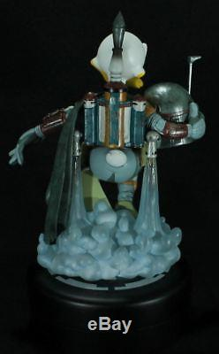 Disney Star Wars Donald Duck as Boba Fett Figure/Statue Limited edt Nt Sideshow