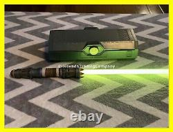 Disney Star Wars Galaxys Edge Rey Skywalker Legacy Lightsaber Hilt Yellow +blade