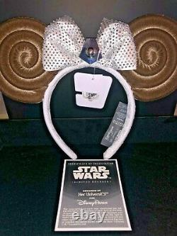 Disney Star Wars Leia Mouse Ears Her Univ Limited Ed SOLD OUT Ashley Eckstein