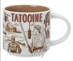 Disney Starbucks Star Wars Mugs Been Three Set Tatooine Batuu Endor