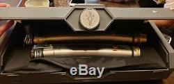 Disneyland Star Wars Galaxy's Edge Legacy LIGHTSABER ASHOKA TANO Hilt, in hand