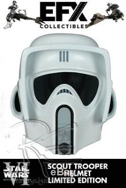 EFX Collectibles Star Wars Episode VI Return of the Jedi Scout Trooper Helmet
