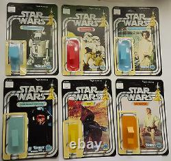 First 21 Kenner Vintage Star Wars Restoration Kits With Self Adhesive Blisters
