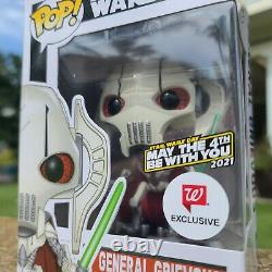 Funko POP! STAR WARS 129 GENERAL GRIEVOUS MAY THE 4TH BE WITH YOU 2021 WALGREENS