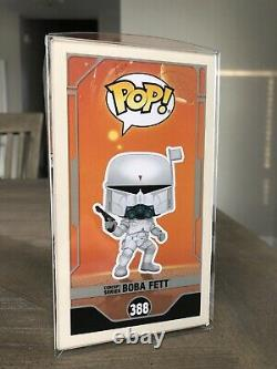 Funko Pop Star Wars Concept Boba Fett Galactic Convention Exclusive With Protector