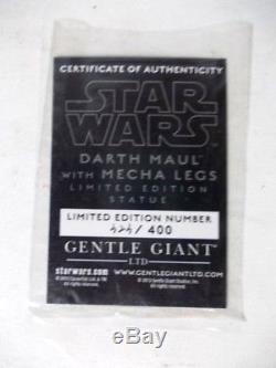 Gentle Giant Darth Maul Spider with Mecha Legs Statue The Clone Wars LE400 Rare