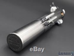 Graflex 3 Cell Replica Skywalker Rey Light Saber Kit Prop (Battle Worn)