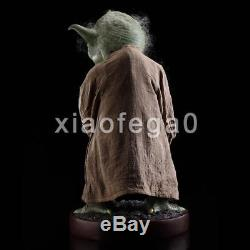 H85CM 12Kgs Star Wars Fan Character 1/1 Life Size Master Yoda Lively Statue USA