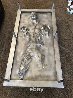Han Solo Carbonite full size Coffee Table Star Wars, Prop Replica