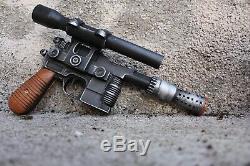 Han Solo DL-44 Blaster Star Wars Prop Movie Replica