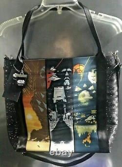 Harveys Seatbelt Disney Star Wars Trilogy Poster Tote Bag shoulder purse NWT