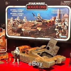 Hasbro Star Wars 2018 Vintage Collection Imperial Combat Assault Hover Tank