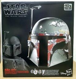 Hasbro Star Wars Black Series Boba Fett Electronic Helmet