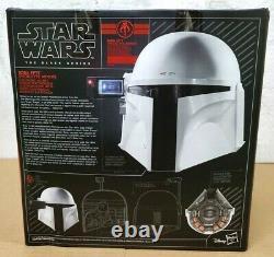 Hasbro Star Wars Black Series Boba Fett Prototype Armor Electronic Helmet