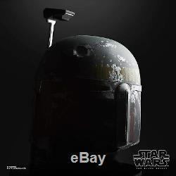 Hasbro Star Wars The Black Series Boba Fett Premium Electronic Helmet PREORDER