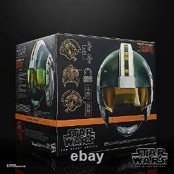 Hasbro Star Wars The Black Series Wedge Antilles Helmet Replica