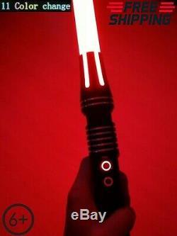 Hot STAR WARS JEDI LIGHTSABER LIGHT SABER SWORD RGB Laser Force FX Heavy Metal